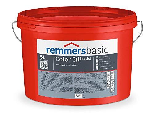 Remmers COLOR SIL [basic] WEIß/FASSADENFARBE Hochwertige Fassadenfarbe mit mineralischem Charakter 12,5 Liter