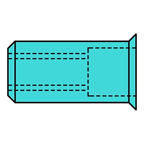 Gesipa tuerca remachable - Tuerca inoxidable a2 m8 cabeza pequena 11x17