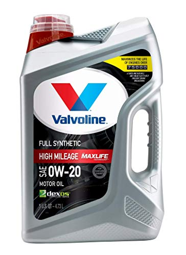 Valvoline Full Synthetic High Mileage with MaxLife Technology SAE...