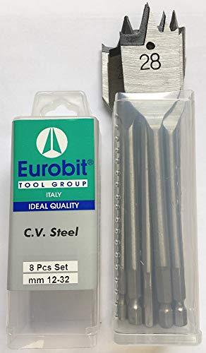 Eurobit Art 565 Burin plat SDS-Plus 40 x 250 mm