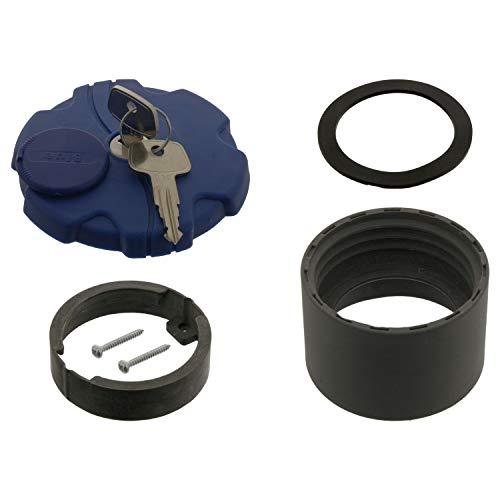 febi bilstein 39211 Tankdeckel für AdBlue®-Tank, mit Schlüssel und Stutzen , 1 Stück