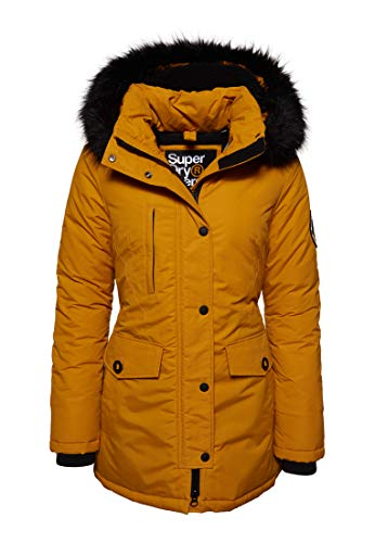 Superdry Mujer Parka Ashley Everest Ocre Ámbar 38