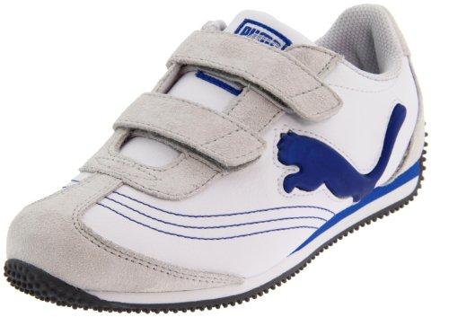 PUMA Speeder Illuminescent V Suede Light-Up Sneaker (Toddler/Little Kid/Big Kid)