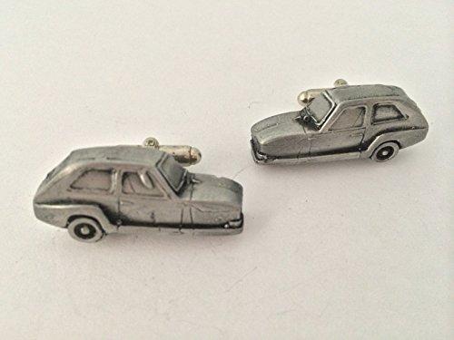 Bond 875 trois roues 3D Boutons de manchette Homme-Classique-Bouton de manchette en étain effet ref32