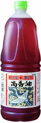 竹本油脂 マルホン 高香油 ごま油+大豆油 ボトル1650g [4037]