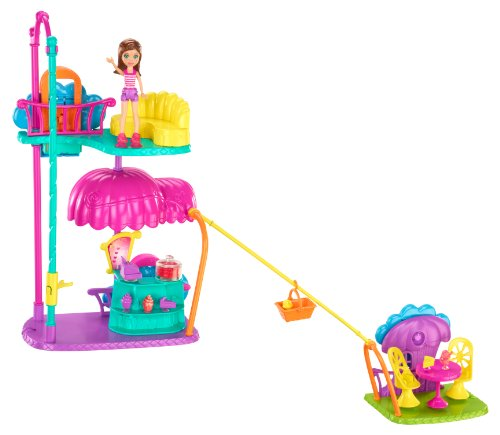 Polly Pocket Wall Party Cafe Playset