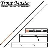 Trout Master Tactical Metalian 3m 5-40g - Angelrute zum Forellenangeln, Forellenrute zum Angeln am Forellenteich, Sbirolinorute