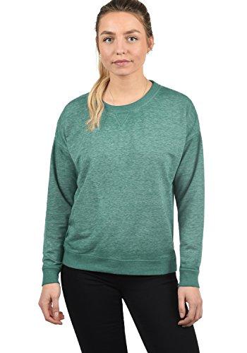 DESIRES Bianca Damen Sweatshirt Pullover Sweater Mit Rundhalsausschnitt, Größe:M, Farbe:North ATL. (3324M)