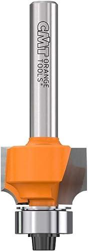 2021 CMT popular 838.190.11 Roundover Bit, 1/4-Inch Shank, online 1/8-Inch Radius, Carbide-Tipped online