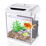 DADYPET Mini Acquario, Acquari per Betta,Set Acquario,...