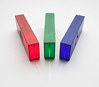 Light Blox by Laser Classroom - Three High Tech Light Sources - Classroom Material to Learn about Physics and Optics