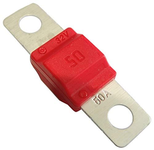 AERZETIX - C42176-5 x Sicherung - Groß - Rot - MIDI - 50A - 32V - für Auto - LKW - Dienstprogramm