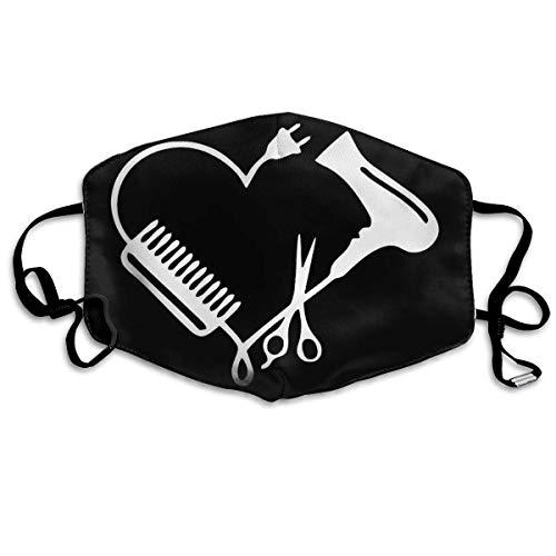 Friseur Werkzeug Kamm Gebläse Männer Frauen Atmungsaktiv Komfortable Gesichtsschutzhülle mit Gummiband für die persönliche Gesundheit Verschiedene Verwendung
