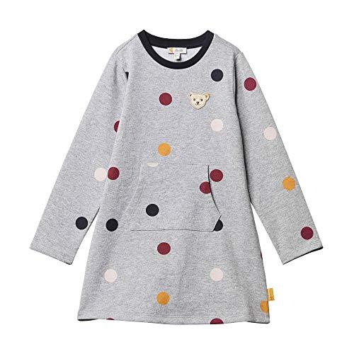 Steiff Baby-Mädchen Kleid, Grau (QUARRY 9007), 80 (Herstellergröße:80)