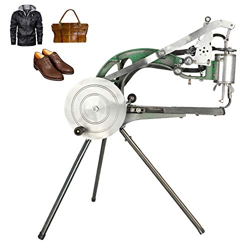 ColouredPeas The New (8 -Bearings) Cobbler Machine,Shoe Repair Hand Sewing Machine, Shoe Cobbler Machine with Nylon Line, Manual Mending for Shoes/Bags/Clothes/Quilts/Coats/Trousers
