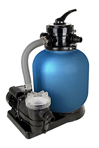 T.I.P. Piscina Juego de filtros filtro de arena SPF 370F, hasta 13.200L/h caudal