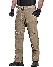 FREE SOLDIER Hombres Tactical Pants Resistente a los arañazos Four Seasons Pantalones de Escalada de múltiples Bolsillo