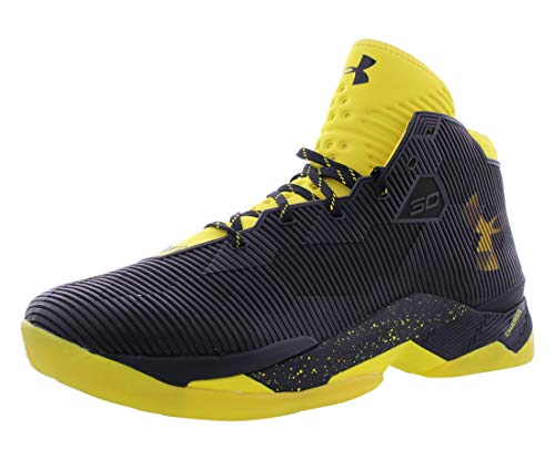 Under Armour Men's Curry 2.5 Basketball Shoe Black/Taxi/Taxi Size 11.5 M US
