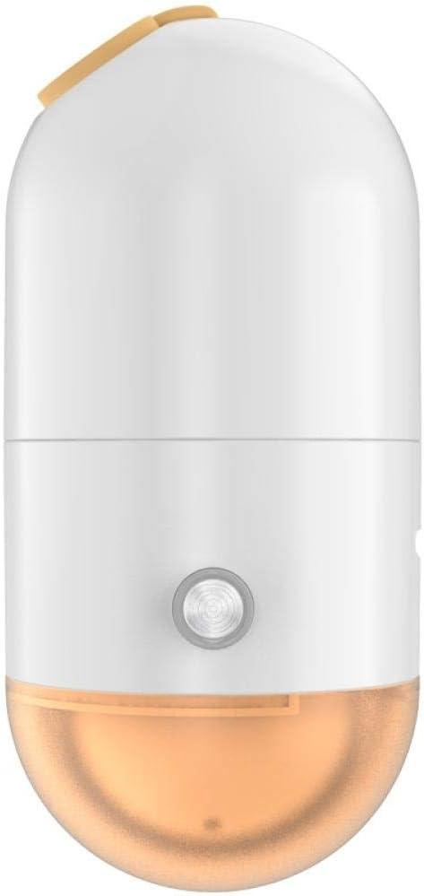 WCCCW Manual/automático Ajustable Plancha Vapor Portátil - Mini vaporizador de Ropa de Mano, Plancha de Vapor de cápsula pequeña, Antiarrugas portátil-Naranja