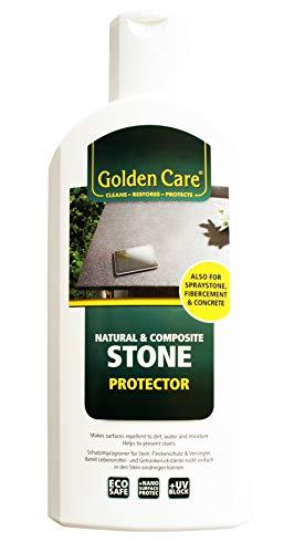 Golden Care Stone Protector Schutzimprägnierung Versiegler für Spraystone Tischplatten und Naturstein