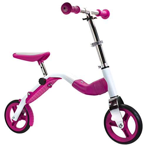 Bestialischer scoobik Pink–Scooter und Fahrrad 2in 1by Wolf