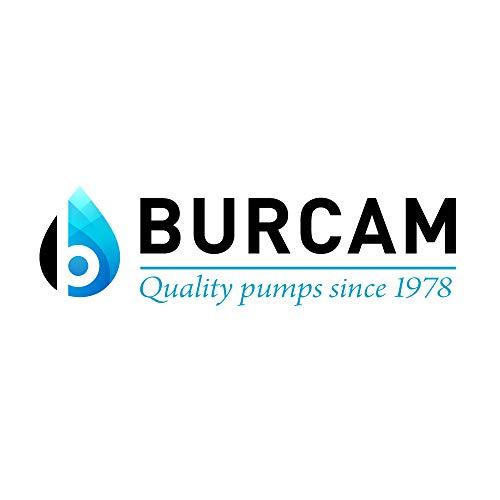 BURCAM 700518Z 2HP Heavy Duty Cast Iron Sprinkler Pump, Black