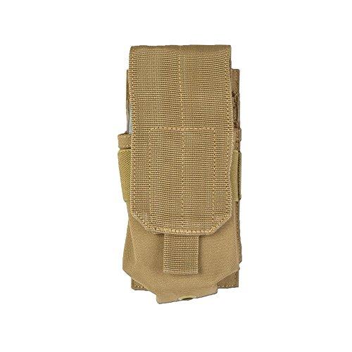 Porte chargeur Mil-Tec M4/M16 Single coyote