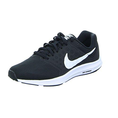 Nike Downshifter 7 W - Zapatillas de Entrenamiento Mujer, Negro (Black / White / Anthracite), 38 EU