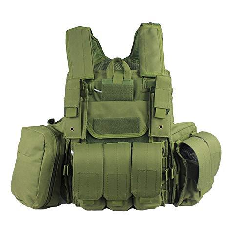 AimdonR Gilet Tactique Militaire Vert