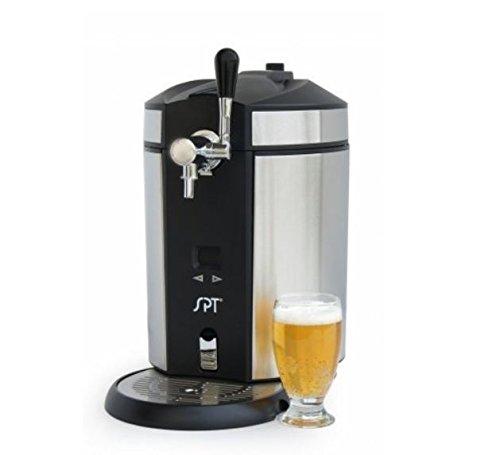 Sunpentown BD-0538 5L Mini Kegerator & Dispenser, Gray