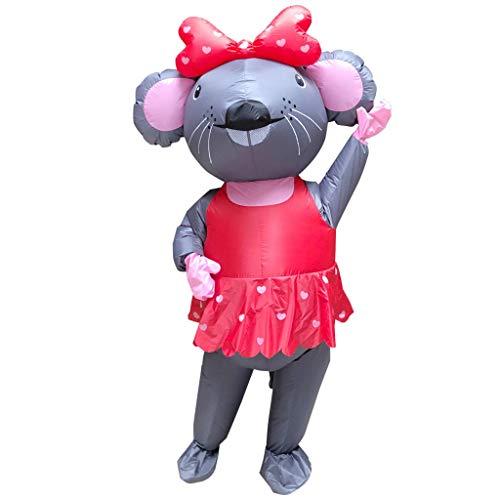 Rollenspiele Aufblasbare Kleidung Performance Kostüm Maus Tier Aufblasbare Kleidung