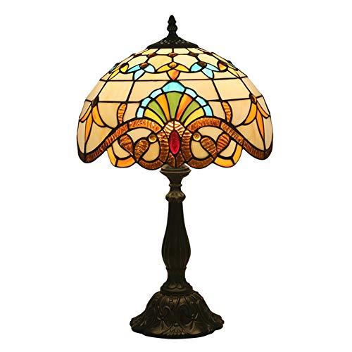 LCSD Lámpara de Escritorio E27 Retro Europeo Retro Lámpara de Mesa de iluminación de iluminación de la Cama de la cabecera Lighting 30 * 30 * 49cm