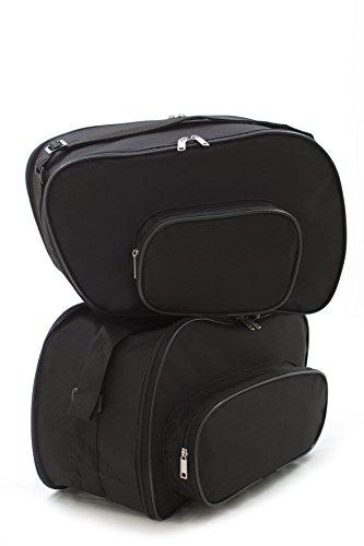 Bolsas, bolsillos interiores adecuados para (System) maletas laterales moto BMW R850R, R850RT R1100R, R1100RS, R1100RT, R1100S, R1100GS, R1150R, R1150RS, R1150RT, R1150GS, K1200GT, K1200RS - No. 10
