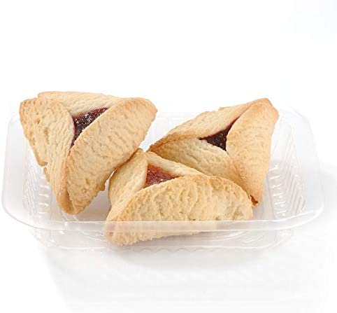 Oh Nuts Hamantachen Purim Cookies 100 Count Bulk Case 6 lbs Mixed Flavor Gourmet Cookie Gift product image