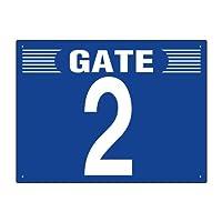 305-301 ゲート表示板 GATE 2 ヨコ