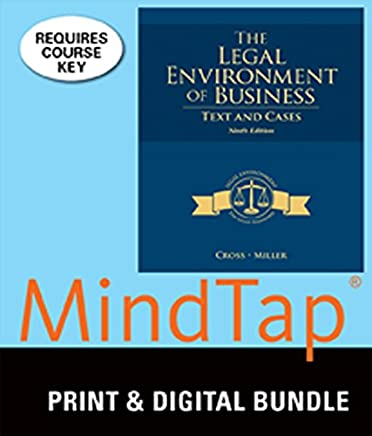 Bundle The Legal Environment Of Business Text And Cases