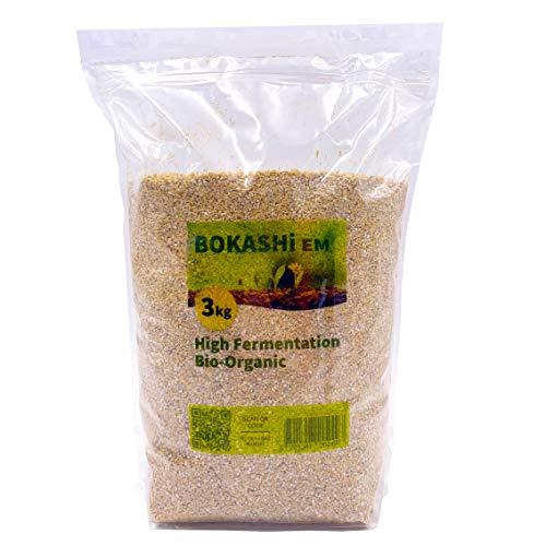 WormBox Sacco da 3 kg per Bokashi, acceleratore/attivatore ad Alta fermentazione Biologica Em® per compostiera
