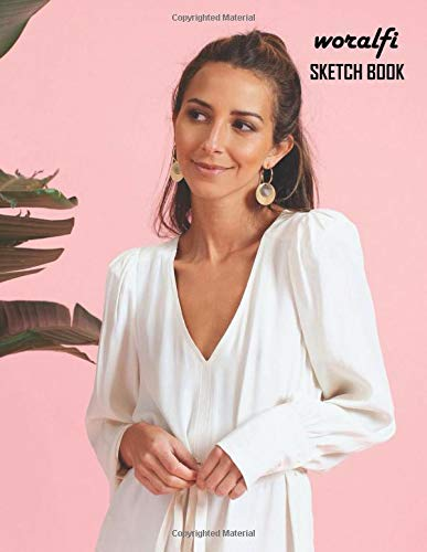 Sketch Book: Arielle Charnas Sketchbook 130 pages, Sketching, Drawing and Creative Doodling Notebook to Draw and Journal 8.5 x 11 in large (21.59 x 27.94 cm)