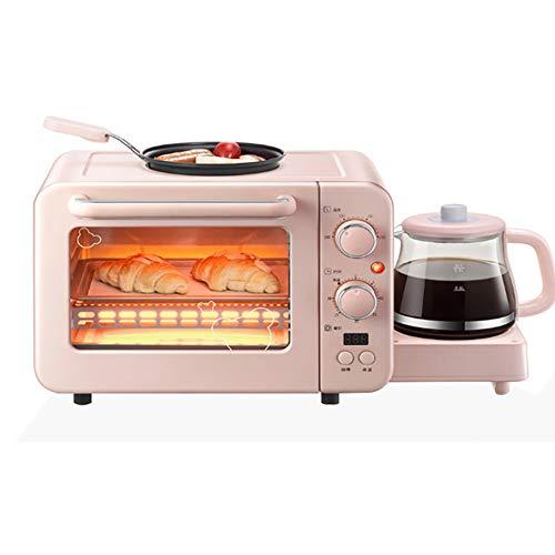多機能8Lオーブントースターとケトルセット、ポット付きプレミアムホーム自動朝食機、自動シャットオフ