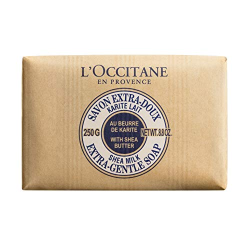 L\'Occitane Shea Butter Milk Extra Gentle Seife er Pack( x )