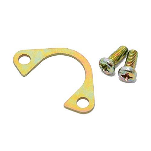 Klammer/Halterung inkl. 2 Schrauben passend für alle 17,5mm und 22mm DellOrto Vergaser mit E-Choke