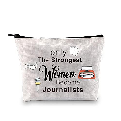 MBMSO Journalist Tasche für Frauen Journalist Reisetasche Journalismus Geschenke nur die stärksten Frauen werden Journalisten, Journalist Bag, Medium