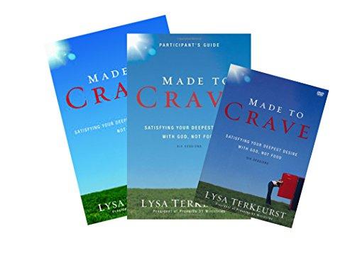 Lysa Terkeurst - Made to Crave FULL SET (Book + DVD + Study Guide) -  Zondervan