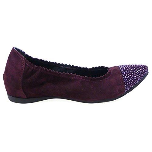 Zapatos Mujer Bailarinas Slippers Pedro Miralles 1407 Burdeos 37