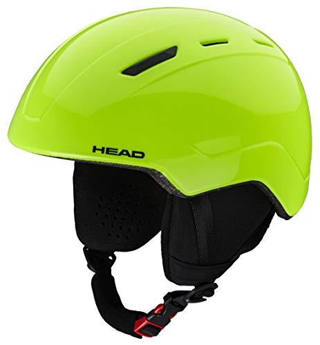 Head Mojo - Casco da Sci Unisex, per Ragazzi, Taglia XXS, Colore Verde Lime