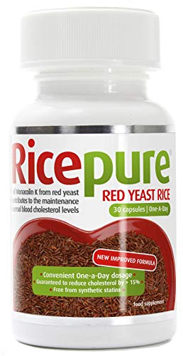 Ricepure | Ricepure Red Yeast Rice One A Day | 1 x 90caps