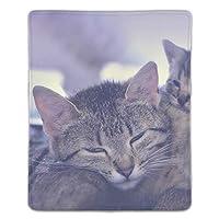 マウスパッド ノートパソコン オフィス用 ゲーム用 ネコ (180*220*3mm)防塵 耐久性 滑り止め 耐用