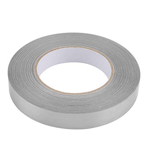 Fockety Exquisita Pegatina de PVC, Pegatina de Aluminio, Sala de Estar, Dormitorio para baño de Superficie Lisa,(2 cm x 50 m (Silver))