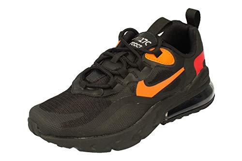Nike Air Max 270 React Gs Grande Niños Cv9638-001, Negro (Negro/Negro/Gris Humo Claro), 36 EU
