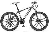 Bicicleta de carretera de la ciudad de cercanías, Bicicleta de montaña, 24/26 pulgadas 21-30 bicis de la velocidad for Adultos / Adolescentes, acero de alto carbono Outroad bicicletas bici del camino,
